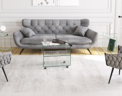 COFFEE TABLE HERA CLEAR 60 x 40 x 52.5 (CT615C)