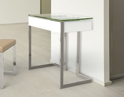 DESK CONDUCTION CLEAR POLISHED STAINLESS STEEL 70x45x77 CM (BU011C)